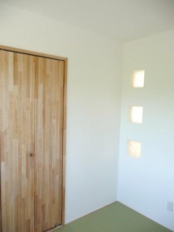 無添加住宅の扉