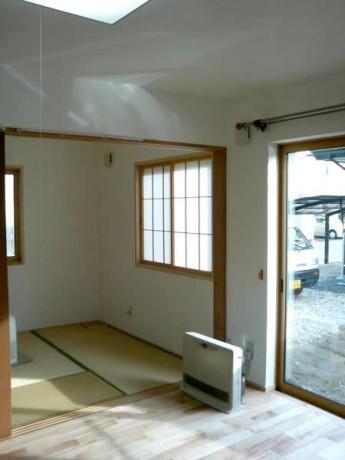 無添加住宅リフォーム施工後室内