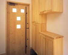 無添加オリジナル内部ドア・靴箱