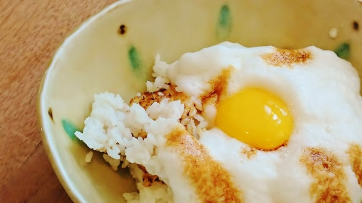 まっちゃん卵のTKG(卵かけご飯)